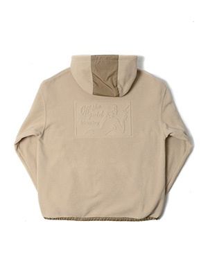 MONTLEY(モーレー)/ Private FLEECE HOOD -BEIGE-
