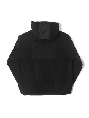 MONTLEY(モーレー)/ Private FLEECE HOOD -BLACK-