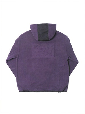 MONTLEY(モーレー)/ Private FLEECE HOOD -PURPLE-