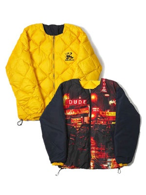 MONTLEY(モーレー)/ News REVERSIBLE PUFF JKT -YELLOW-