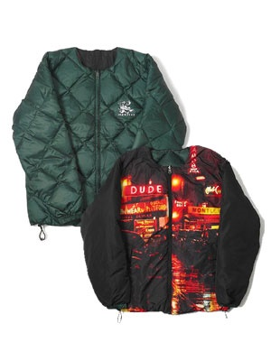 MONTLEY(モーレー)/ News REVERSIBLE PUFF JKT -GREEN-