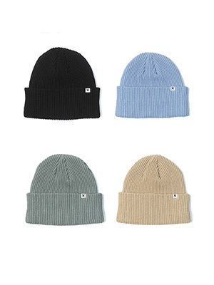 MONTLEY(モーレー)/ WM LABEL KNIT CAP -4.COLOR-