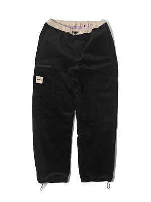 MONTLEY(モーレー)/ River CORDUROY PANTS -BLACK-
