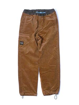 MONTLEY(モーレー)/ River CORDUROY PANTS -BROWN-