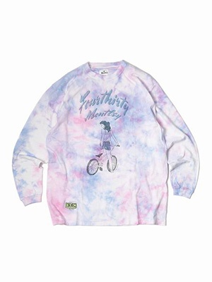 MONTLEY(モーレー)/ 430×Montley GIRLS3 LS TEE -PINK-