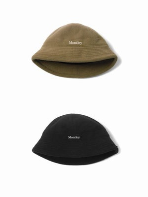 MONTLEY(モーレー)/ LOGO BELL FLEECE HAT -2.COLOR-