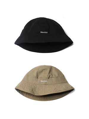 MONTLEY(モーレー)/ LOGO BELL HAT -2.COLOR-