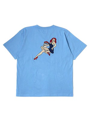 MONTLEY(モーレー)/ Station SS TEE -L.BLUE-