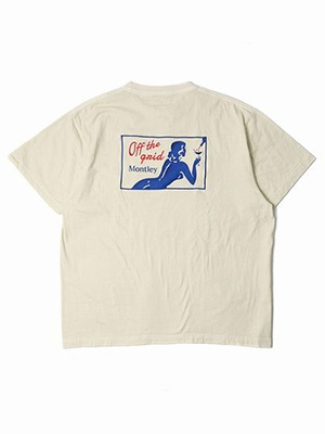 MONTLEY(モーレー)/ Private DYE SS TEE -CREAM-