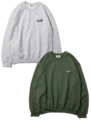 HAIGHT(ヘイト)/ CORE LOGO SWEAT -2.COLOR-