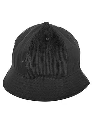 PASS PORT(パスポート)/ CORD PATCH 6 PANEL BUCKET CAP -3.COLOR-