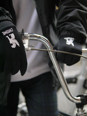 CHROME(クローム)/ POWER STRECH GLOVE -BLACK-