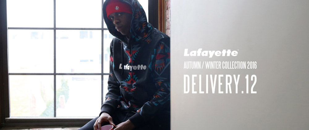 11/19(Sat) Lafayette 2016 AW Collection DEL.12 発売!!